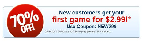 Bigfish Games Discount Coupon