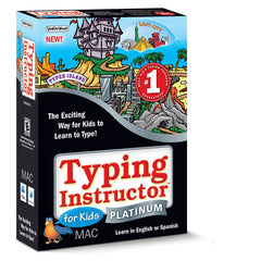Buy Typing Instructor for Kids Platinum 5.0 Mac download version