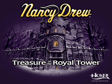 Nancy Drew Treasure in the Royal Tower Windows XP cd-rom version