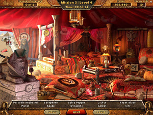 Hidden object games for Windows - Amazing Adventures Lost Tomb cd-rom