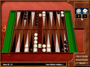 3D Backgammon download version