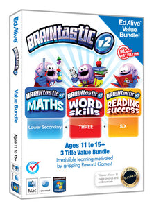 Braintastic Bundle for ages 11 to 15+