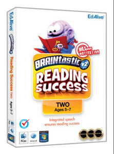 Braintastic Reading Success Windows cd-rom version