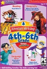 Educational games for 9 year olds - Adventure Workshop 4th Grade to 6th Grade