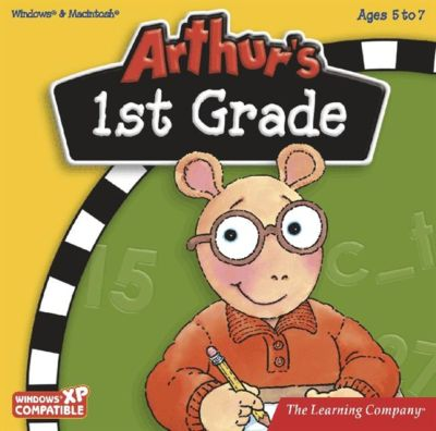 Educational games for 6 year olds - Arthur's 1st Grade cd-rom