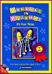 Bananas in Pyjamas It's Fun Time