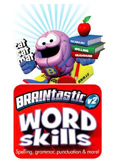 Braintastic Word Skills One ages 5 to 7 cd-rom