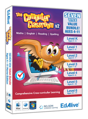 Computer Classroom for ages 4 to 11 value bundle cd-rom version
