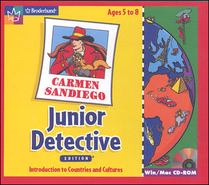 Carmen Sandiego Junior Detective (32-bit only)