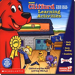 Clifford the Big Red Dog Learning Activities Pre-K