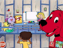 Clifford the Big Red Dog educational program for preschool