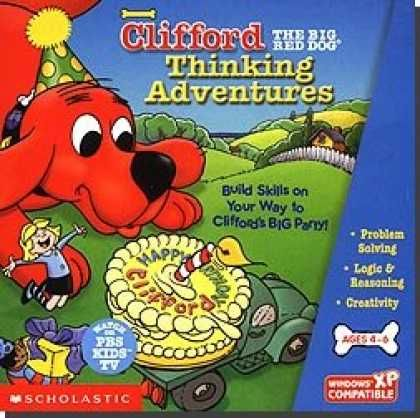 Scholastic Clifford the Big Red Dog Thinking Adventures