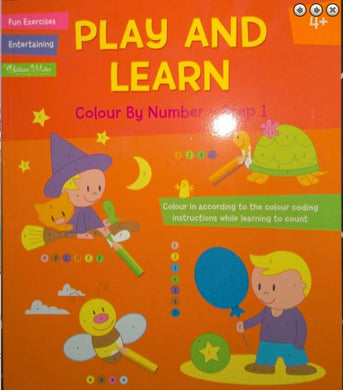 Colour by number books for kids