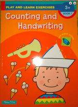 Counting & Handwriting educational workbooks