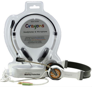Children's headphones with microphone