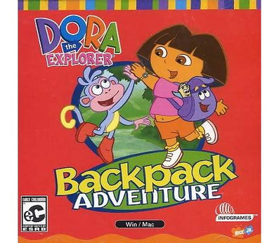 Dora the Explorer computer game for preschoolers