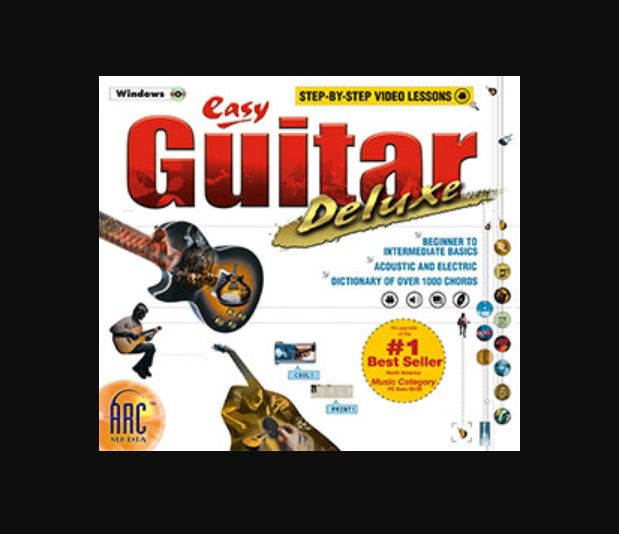 Easy Guitar learn to play guitar software program