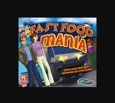 Fast Food Mania cheap time management computer game