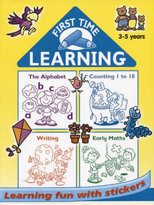 Bumper educational workbook ages 3 to 5