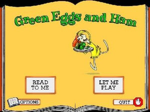 Dr Seuss Green Eggs & Ham Living Book