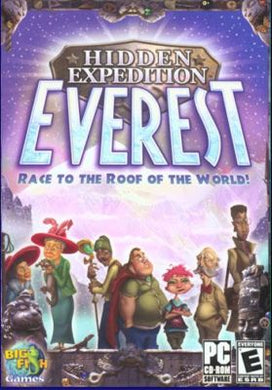 Hidden Expedition Everest cd-rom version