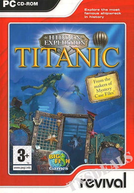 Hidden Expedition Titanic cd-rom version