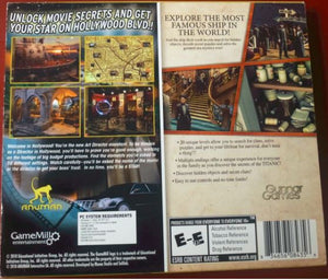 Hidden Mysteries Titanic & Lost Secrets Hollywood Twin Pack cd-rom version