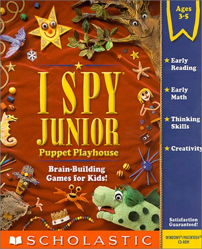 I Spy Junior Puppet Playhouse cd-rom version