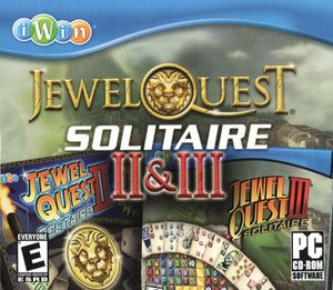 Jewel Quest Solitaire II & III cd-rom version