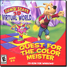 JumpStart 3D Virtual World Quest for the Colour Meister