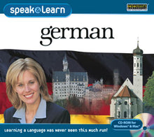 Learn German with language learning programs for Windows available on disc or digital download