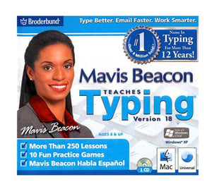 Mavis Beacon Teaches Typing v18