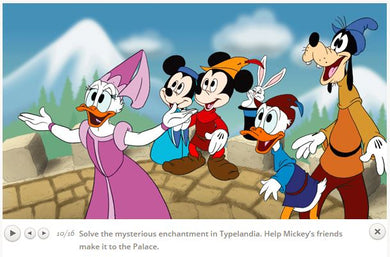 Disney Mickey's Typing Adventure for Windows or Mac download version link