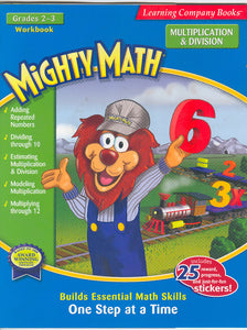 Mighty Math 2nd & 3rd Grade Multiplication & Division workbook