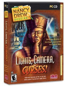 Nancy Drew Lights Camera Curses! cd-rom version