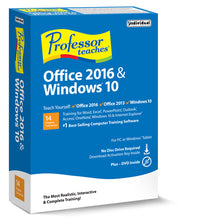 Professor Teaches Office 2016 & Windows 10 download version link