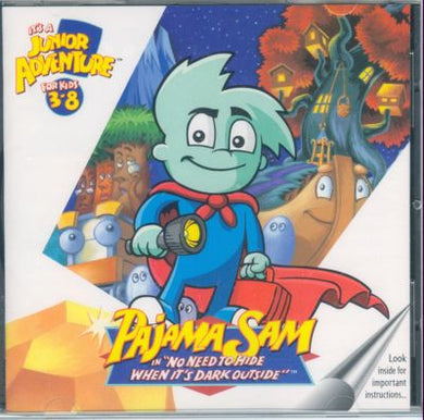 Pajama Sam No Need to Hide when it's Dark Outside (32-bit only)