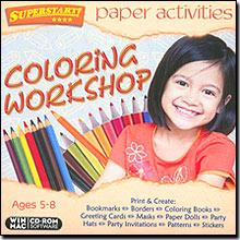 Paper Activities Colouring Workshop cd-rom version