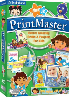 PrintMaster Nick Jr