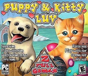 Puppy Luv & Kitty Luv Twin Pack