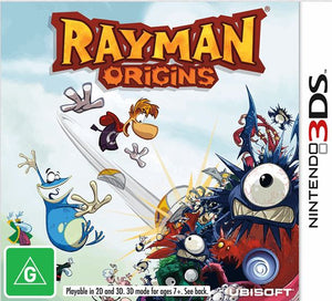 Buy Rayman Origins for 3DS in Australia