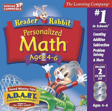 Reader Rabbit Personalised Maths ages 4-6