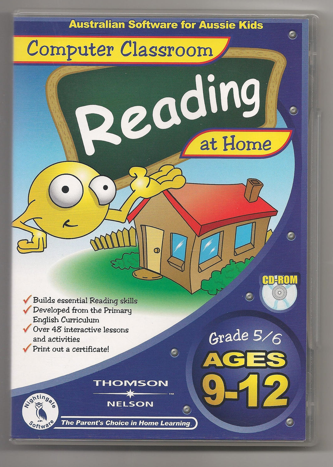 Computer Classroom Reading at Home v1 ages 9 to 12 cd-rom version