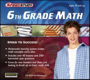 6th Grade Maths educational software for kids