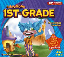 Schooltown 1st Grade cd-rom version