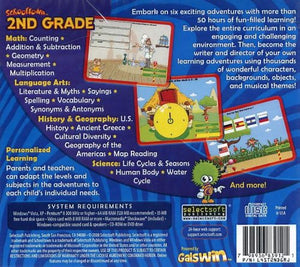 Schooltown 2nd Grade cd-rom version