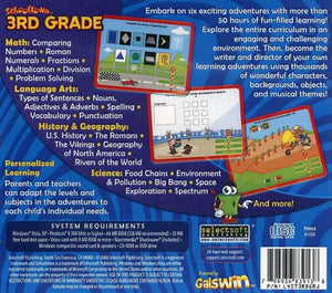 Schooltown 3rd Grade cd-rom version