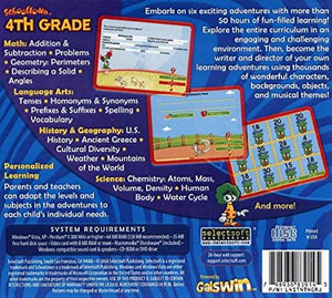 Schooltown 4th Grade cd-rom version