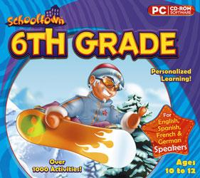 Schooltown 6th Grade cd-rom version