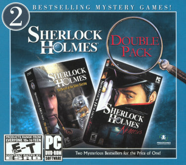 Sherlock Holmes Nemesis & The Secret of the Silver Earring twin pack